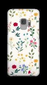 Flores Primaverales funda Galaxy S9