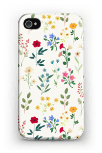 Spring Botanicals case IPhone 4/4s