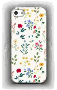 Lentebloemetjes hoesje IPhone 5/5S