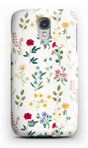 Spring Botanicals case Galaxy S4
