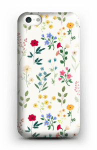 Vårblomster skal IPhone 5c