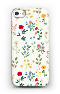 Spring Botanicals case IPhone SE