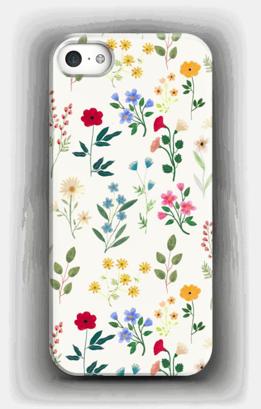 Spring Botanicals case IPhone SE