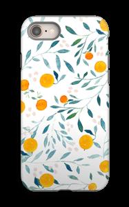Appelsiini kuoret IPhone 8 tough