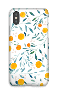 Oranges case IPhone X