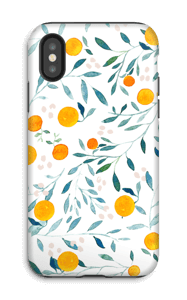 Oranges case IPhone X tough