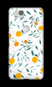Sinaasappel hoesje Pixel 2