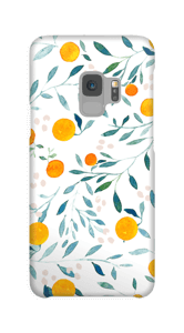 Summer oranges case Galaxy S9