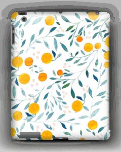Appelsiini kuoret IPad 4/3/2