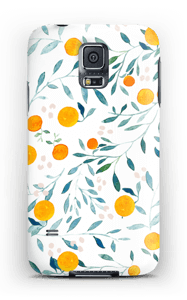 Appelsiini kuoret Galaxy S5