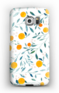 Appelsiini kuoret Galaxy S6 Edge