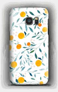Apfelsinen Handyhülle Galaxy S7