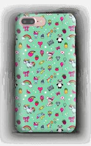 Stars and unicorns case IPhone 7 Plus