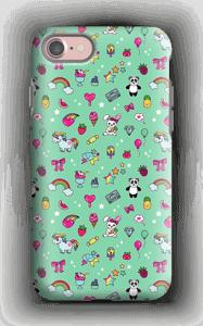 Stars and unicorns case IPhone 7 tough