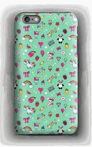 Stars and unicorns case IPhone 6 Plus tough