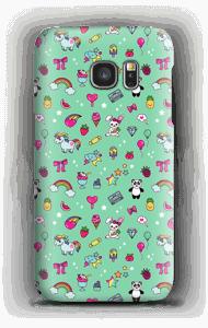 Cuties in Türkis Handyhülle Galaxy S7