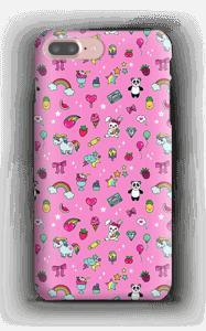 Cuties i rosa  deksel IPhone 7 Plus