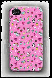 Pinkit söpöliinit kuoret IPhone 4/4s