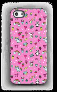 Cuties i rosa  deksel IPhone 5/5s tough