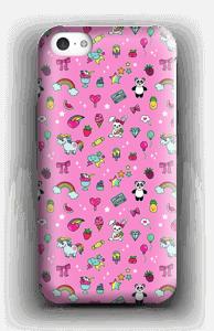 Cuties i rosa  deksel IPhone 5c