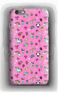 Cuties i rosa  deksel IPhone 6s Plus