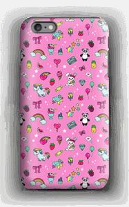Cuties i rosa  deksel IPhone 6s Plus tough