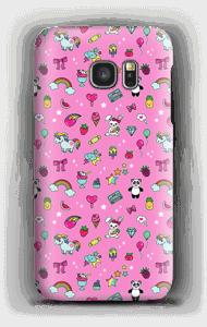 Cuties in Rosa Handyhülle Galaxy S7