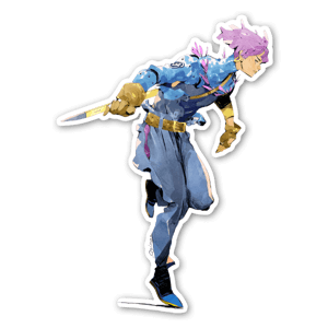 Future Trunks Redesign sticker