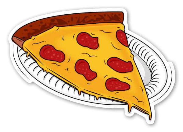 New York Pizza Sticker