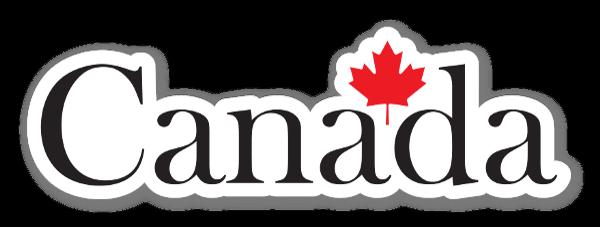 Canadá pegatina
