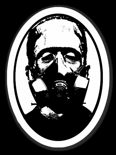 Frankenstein pegatina