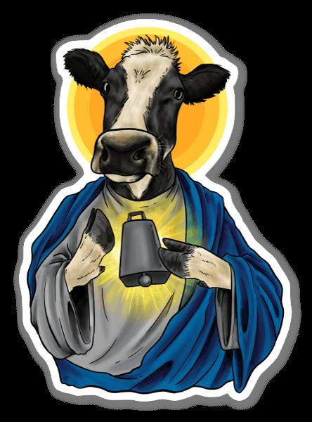 Holy Cow pegatina
