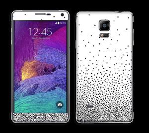 Sort regn Skin Galaxy Note 4