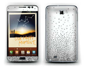 Rain of Dots Skin Galaxy Note