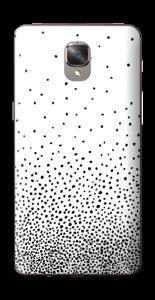 Schwarze Regentropfen Skin OnePlus 3