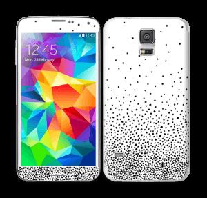 Sort regn Skin Galaxy S5