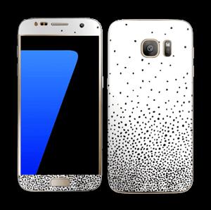 Pilkkusade  tarrakuori Galaxy S7