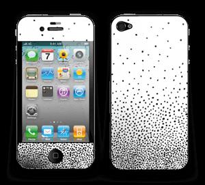 Schwarze Regentropfen Skin IPhone 4/4s