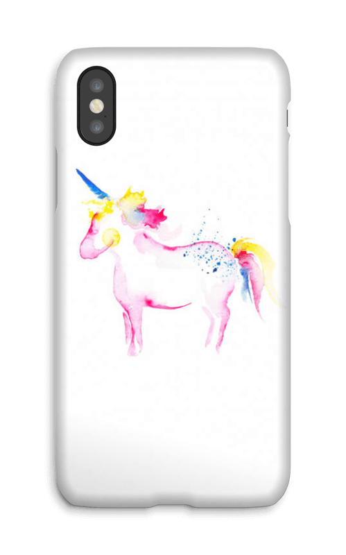 Be a Unicorn deksel IPhone X
