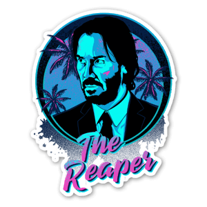 The Reaper sticker