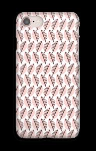 Blade i lyserød cover IPhone 8