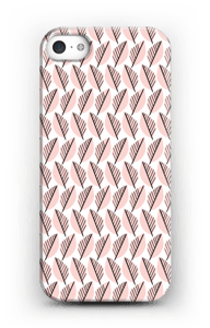 Pink Foliage  case IPhone 5/5S