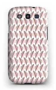 Pink Foliage  case Galaxy S3