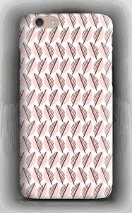 Lövverk i rosa skal IPhone 6