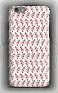 Lövverk i rosa skal IPhone 6s
