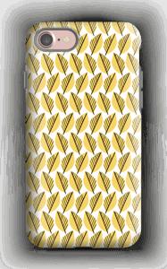 Lövverk i gul skal IPhone 7 tough