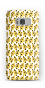 Yellow Foliage case Galaxy S8