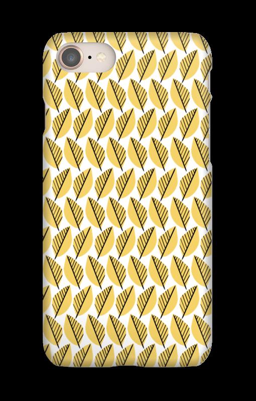 Gult mønster cover IPhone 8