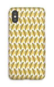 Yellow Foliage case IPhone X