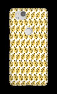 Keltaiset lehdet kuoret Pixel 2
